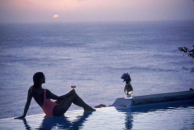 Mustique Tranquility Poster by Slim Aarons