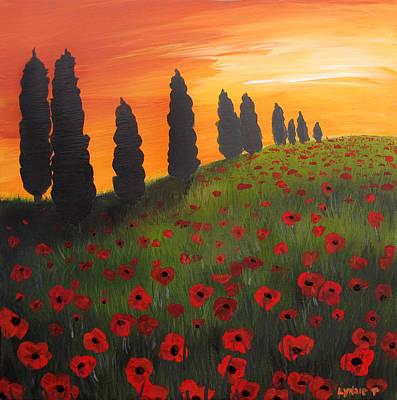 My Dear Tuscany Poster by Lynsie Petig