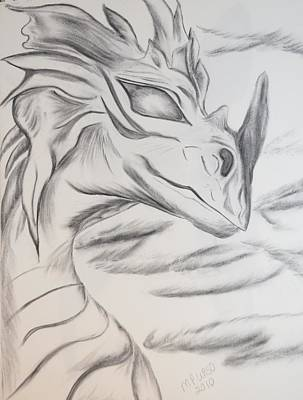 My Dragon Poster by Maria Urso