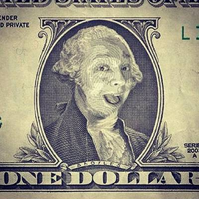 My Face On The Dollar Bill. #money Poster
