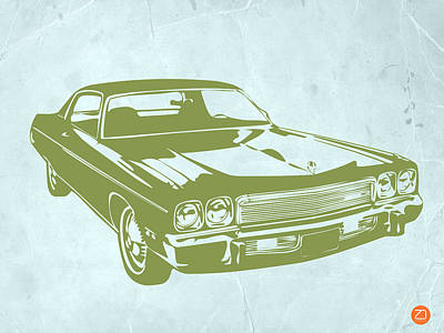 My Favorite Car 5 Poster by Naxart Studio