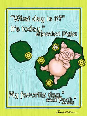My Favorite Day Poster by Jerrett Dornbusch