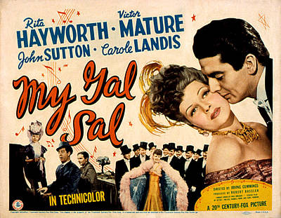 My Gal Sal, Rita Hayworth, Phil Poster by Everett