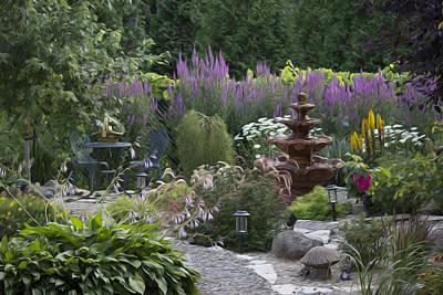 My Garden 2 Poster by Michel DesRoches