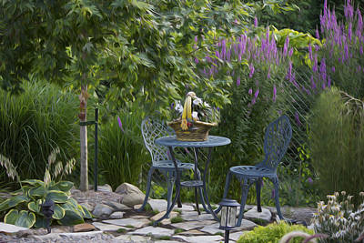 My Garden 3 Poster by Michel DesRoches