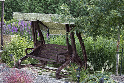 My Garden 4 Poster by Michel DesRoches