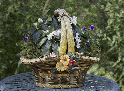 My Garden 5 Poster by Michel DesRoches