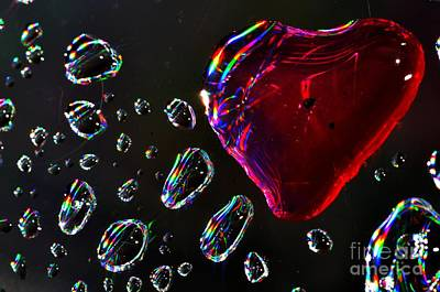 Poster featuring the photograph My Heart by Sylvie Leandre