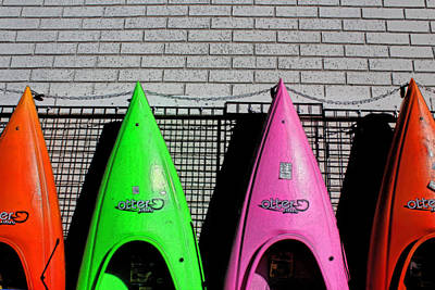 My Kayak Poster by Bob Whitt