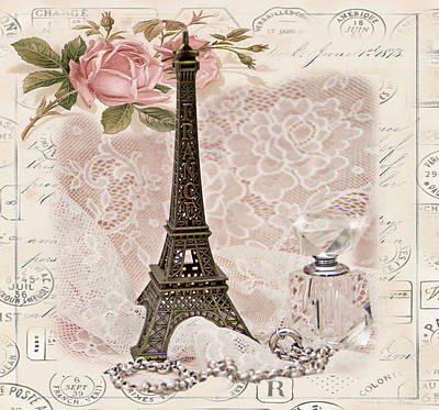 My Paris Poster by Taschja Hattingh