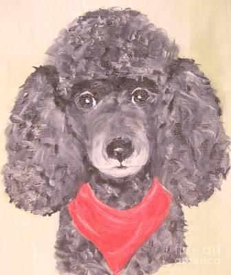 My Red Bandana Poster by Rachel Carmichael