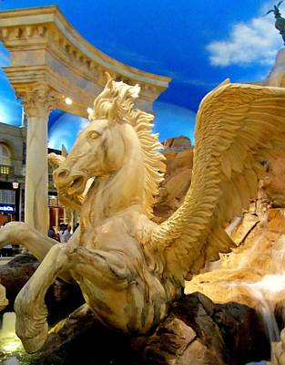 My Vegas Caesars 13 Poster by Randall Weidner
