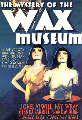 Mystery Of The Wax Museum, 1933 Poster by Everett