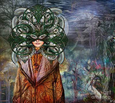 Mystical Adventures II Poster by Rhonda Strickland