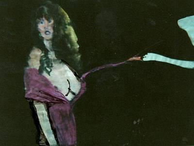 Myth Contemporary Leda Swan  Poster