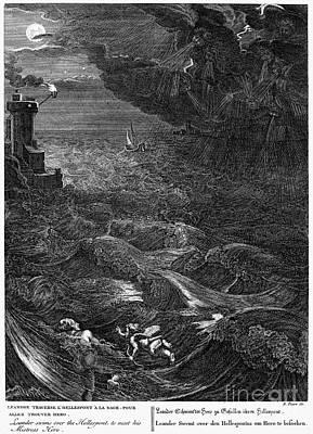 Mythology: Leander Poster by Granger