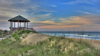 Nags Head Gazebo Poster by Brad Scott