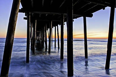 Nags Head Pier - A Different View Poster
