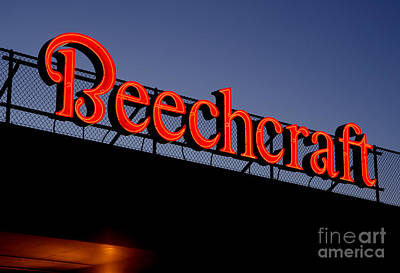 Name Beechcraft Poster by Fred Lassmann