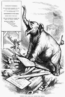 Nast: Tweed Cartoon, 1875 Poster