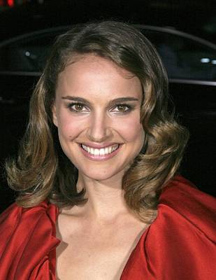 Natalie Portman At Arrivals For L.a Poster by Everett