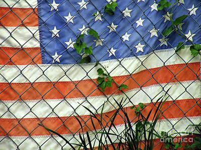 Nation In Distress Poster by Joe Jake Pratt