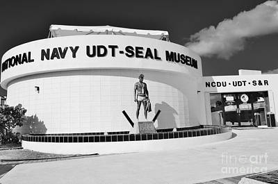 National Navy Udt-seal Museum Poster