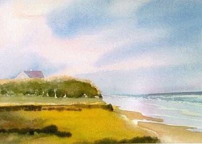 Nauset Beach Afternoon Poster by Joseph Gallant