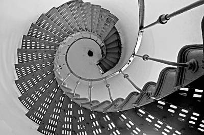 Nautilus Stairs Poster by Sandy Fisher