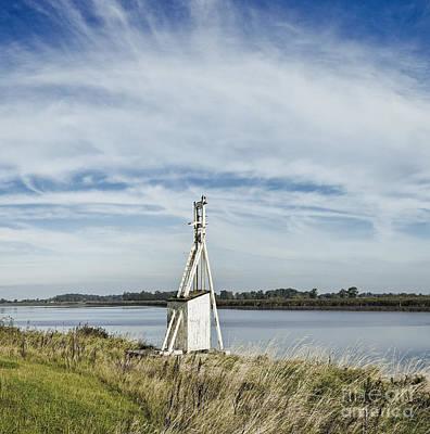 Navigation Beacon, East Yorkshire, England Poster by Jon Boyes