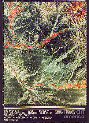 Nazca Lines Poster by NASA / Science Source