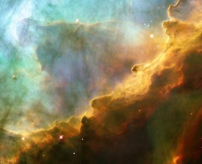 Nebula In M17 Poster by Nasaesastscij.hester,asu