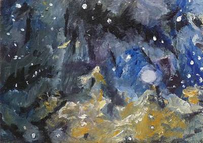 Nebula Poster by Jessmyne Stephenson