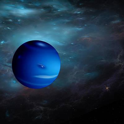 Neptune Poster by Gordon Engebretson