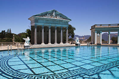 Neptune Pool Hearst Castle Poster