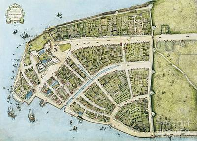 New Amsterdam Poster by Pg Reproductions