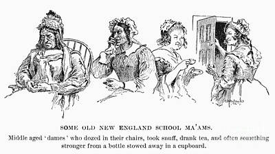 New England: Schoolmarms Poster by Granger