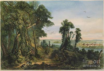 New Harmony, 1844 Poster