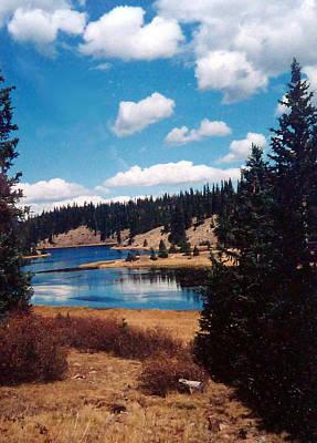 New Mexico Lake Poster