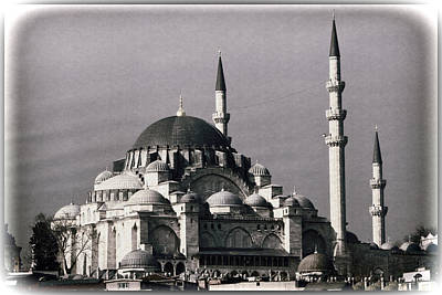 New Mosque Poster by Joan Carroll