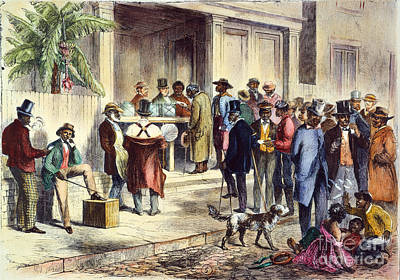 New Orleans: Voting, 1867 Poster
