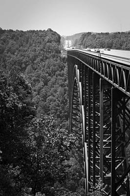 New River Gorge Bridge Fayetteville West Virginia Poster by Teresa Mucha