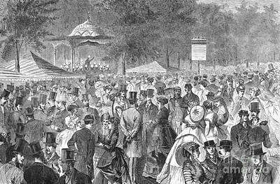 New York: Bandstand, 1869 Poster by Granger