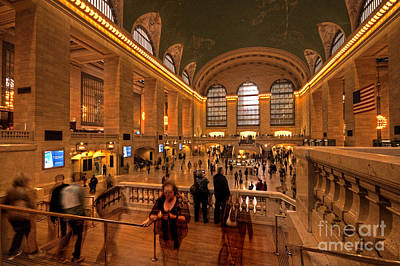 New York Grand Central Poster by Rob Hawkins