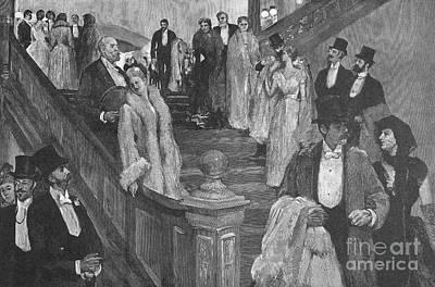 New York: Opera, 1890 Poster