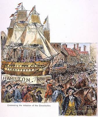 New York: Parade, 1788 Poster by Granger