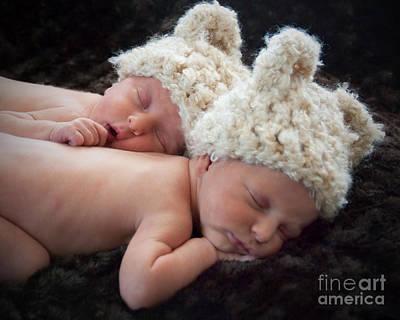 Newborn Twins Poster