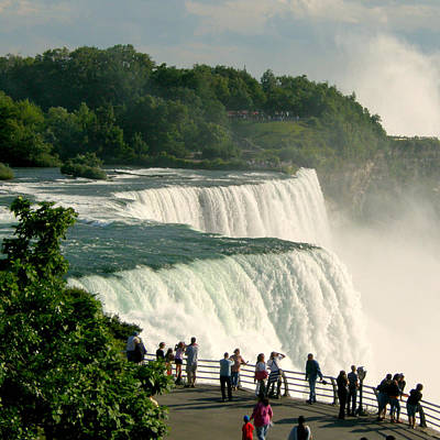 Poster featuring the photograph Niagara Falls State Park by Mark J Seefeldt