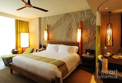 Nice Hotel-room Poster by Atiketta Sangasaeng