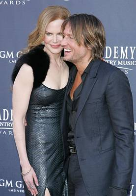 Nicole Kidman, Keith Urban At Arrivals Poster by Everett